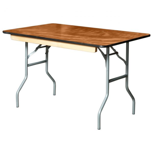 4′ Trestle Table