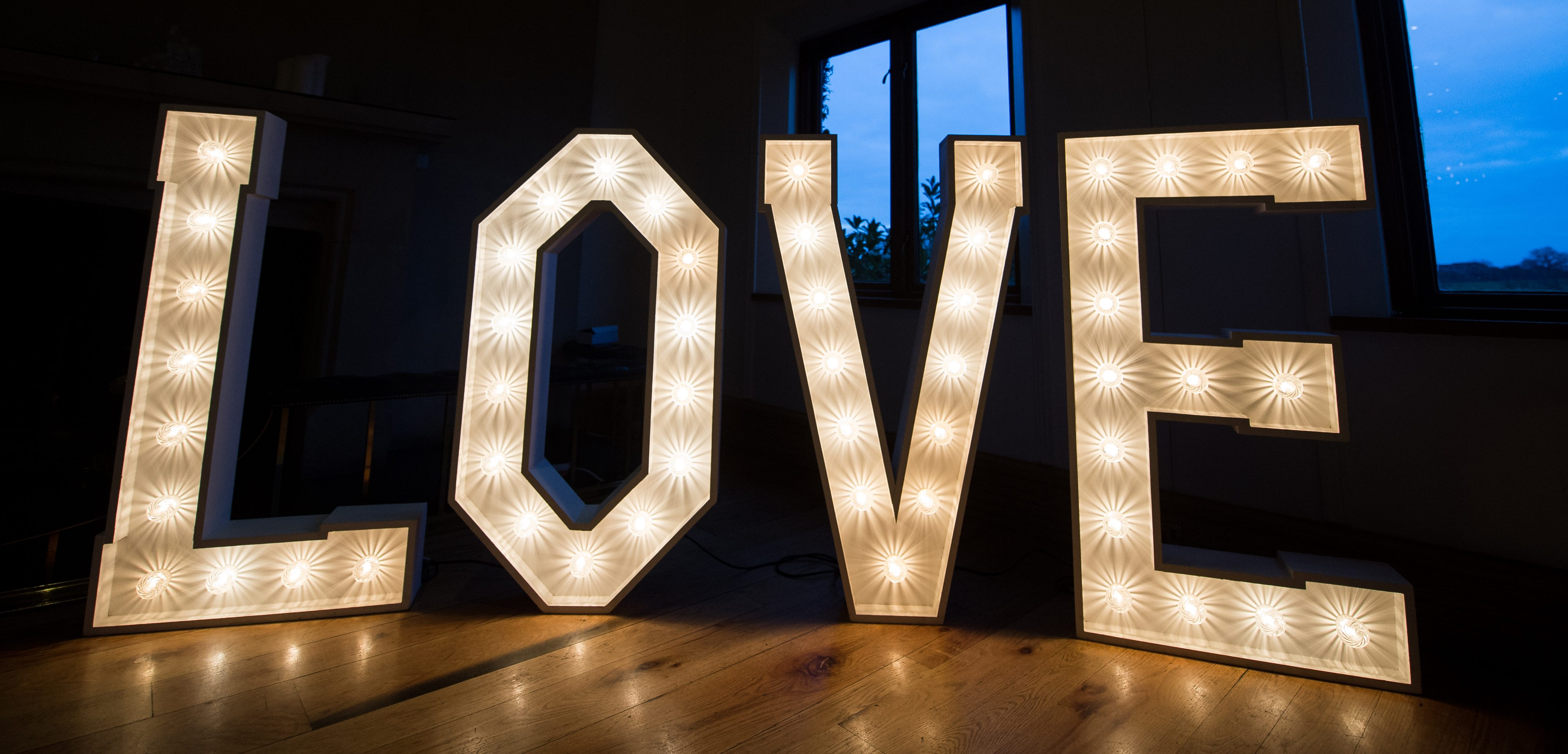 LED letters (create your words)